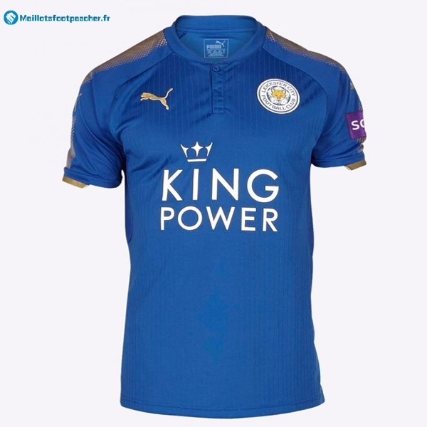 Maillot Foot Pas Cher Leicester City Domicile 2017 2018