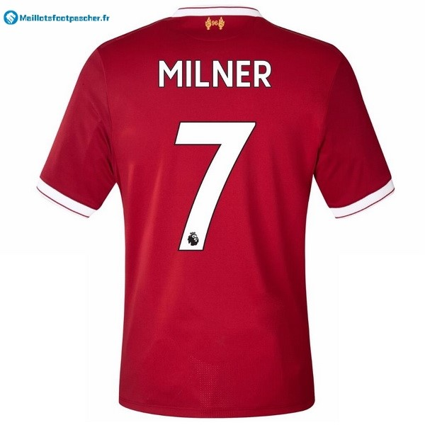 Maillot Foot Pas Cher Liverpool Domicile Milner 2017 2018