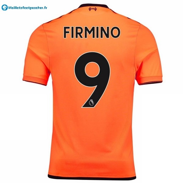 Maillot Foot Pas Cher Liverpool Third Firmino 2017 2018
