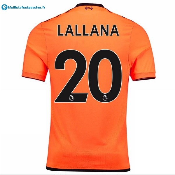 Maillot Foot Pas Cher Liverpool Third Lallana 2017 2018