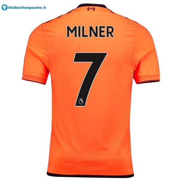 Maillot Foot Pas Cher Liverpool Third Milner 2017 2018