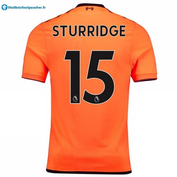Maillot Foot Pas Cher Liverpool Third Sturridge 2017 2018