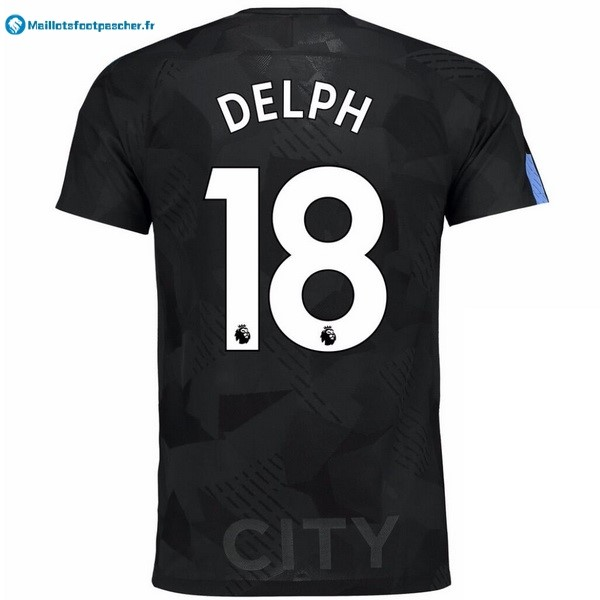 Maillot Foot Pas Cher Manchester City Third Delph 2017 2018