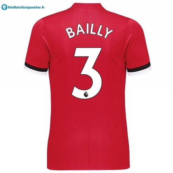 Maillot Foot Pas Cher Manchester United Domicile Bailly 2017 2018
