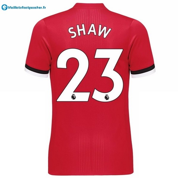 Maillot Foot Pas Cher Manchester United Domicile Shaw 2017 2018