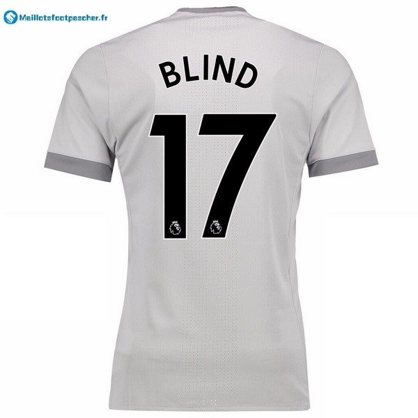 Maillot Foot Pas Cher Manchester United Third Blind 2017 2018