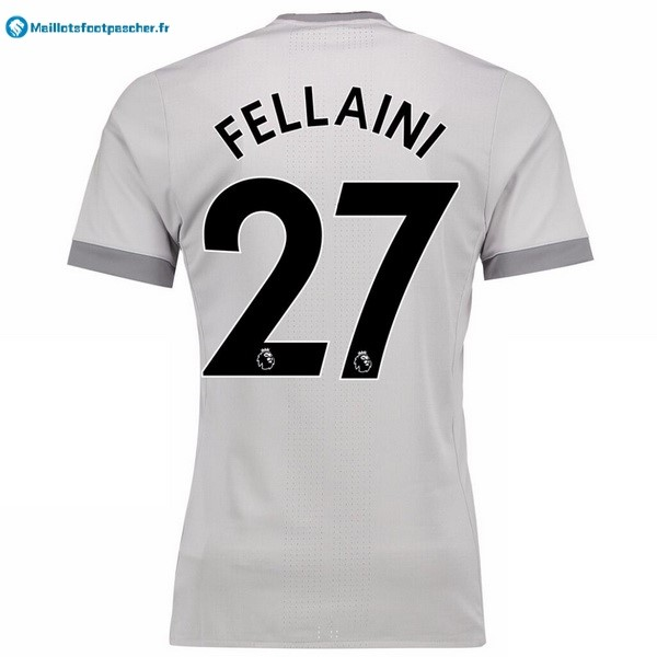 Maillot Foot Pas Cher Manchester United Third Fellaini 2017 2018