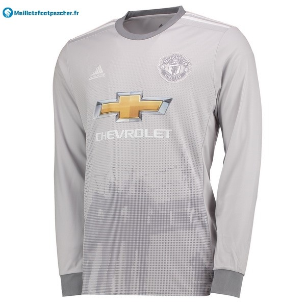 Maillot Foot Pas Cher Manchester United Third ML 2017 2018