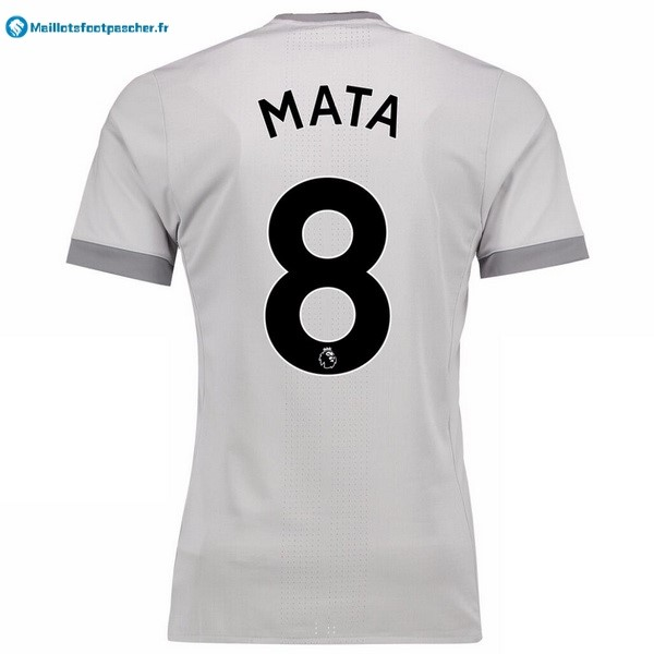 Maillot Foot Pas Cher Manchester United Third Mata 2017 2018