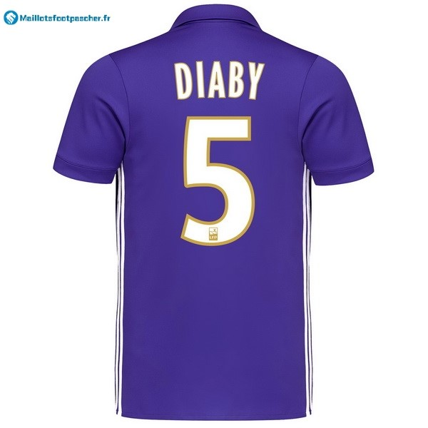 Maillot Foot Pas Cher Marseille Third Diaby 2017 2018