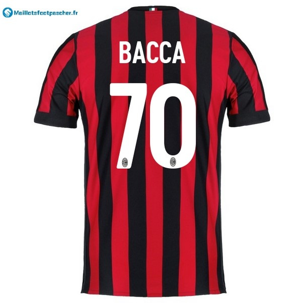 Maillot Foot Pas Cher Milan Domicile Bacca 2017 2018