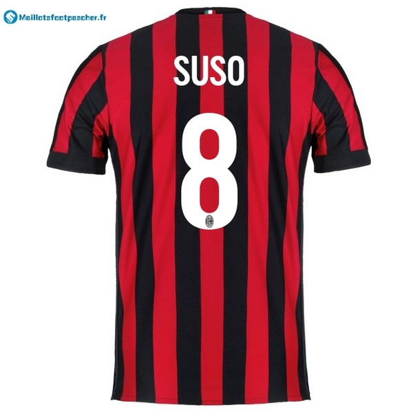 Maillot Foot Pas Cher Milan Domicile Suso 2017 2018