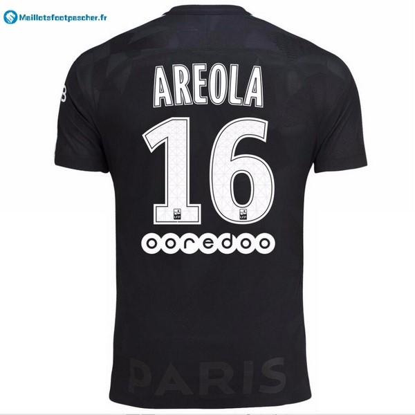 Maillot Foot Pas Cher Paris Saint Germain Third Areola 2017 2018