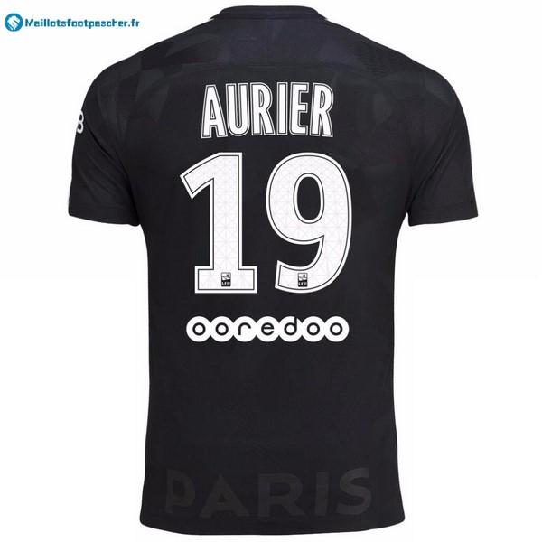 Maillot Foot Pas Cher Paris Saint Germain Third Aurier 2017 2018