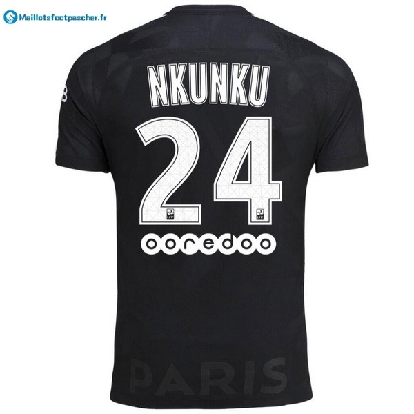 Maillot Foot Pas Cher Paris Saint Germain Third Nkunku 2017 2018