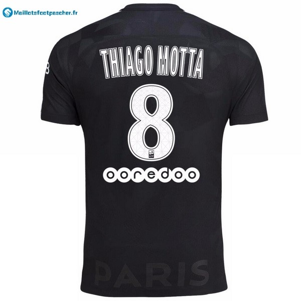 Maillot Foot Pas Cher Paris Saint Germain Third Thiago Motta 2017 2018