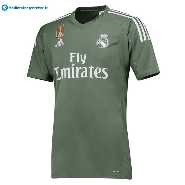 Maillot Foot Pas Cher Real Madrid Domicile Gardien 2017 2018