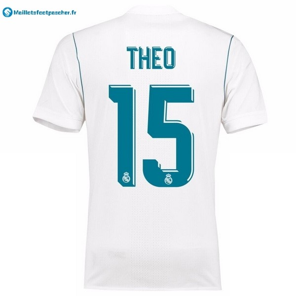 Maillot Foot Pas Cher Real Madrid Domicile Theo 2017 2018