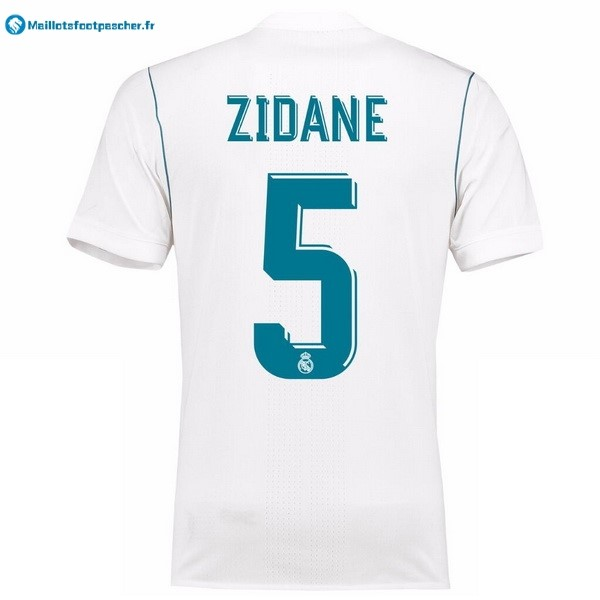 Maillot Foot Pas Cher Real Madrid Domicile Zidane 2017 2018