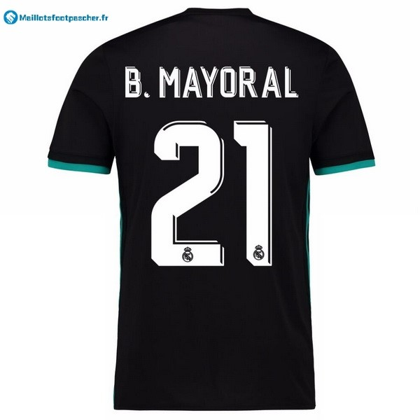 Maillot Foot Pas Cher Real Madrid Exterieur B.Mayoral 2017 2018