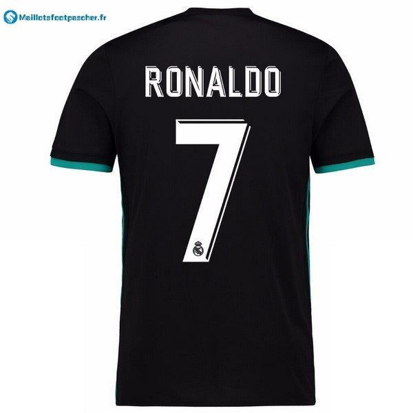 Maillot Foot Pas Cher Real Madrid Exterieur Ronaldo 2017 2018