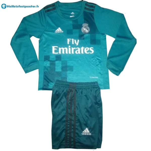 Maillot Foot Pas Cher Real Madrid Third ML Enfant 2017 2018