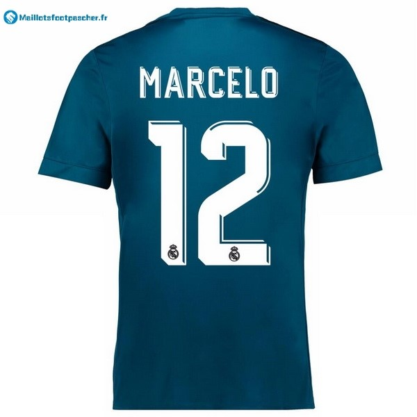 Maillot Foot Pas Cher Real Madrid Third Marcelo 2017 2018
