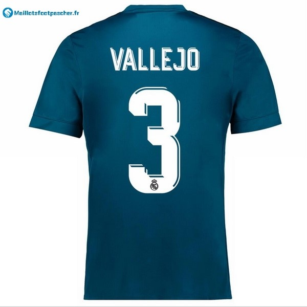 Maillot Foot Pas Cher Real Madrid Third Vallejo 2017 2018
