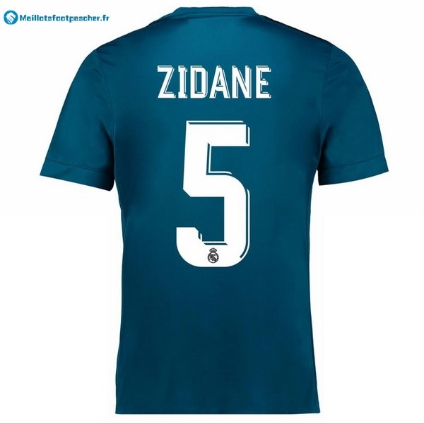 Maillot Foot Pas Cher Real Madrid Third Zidane 2017 2018