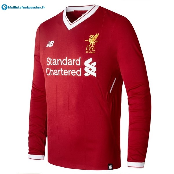 Maillot Foot Pas Cher liverpool Domicile ML 2017 2018