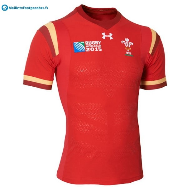 Maillot Rugby Pas Cher Pays de Galles 2016 Rouge