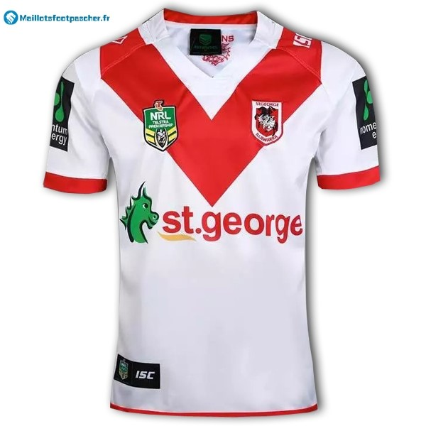 Maillot Rugby Pas Cher St. George Illawarra Dragons NRL Domicile 2016 2017