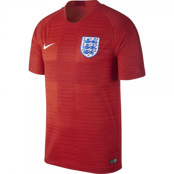 Maillot Foot Pas Cher Angleterre Exterieur 2018 Rouge
