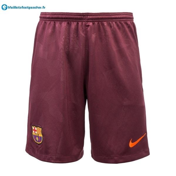 Pantalon Foot Pas Cher Barcelona Third 2017 2018 Rouge