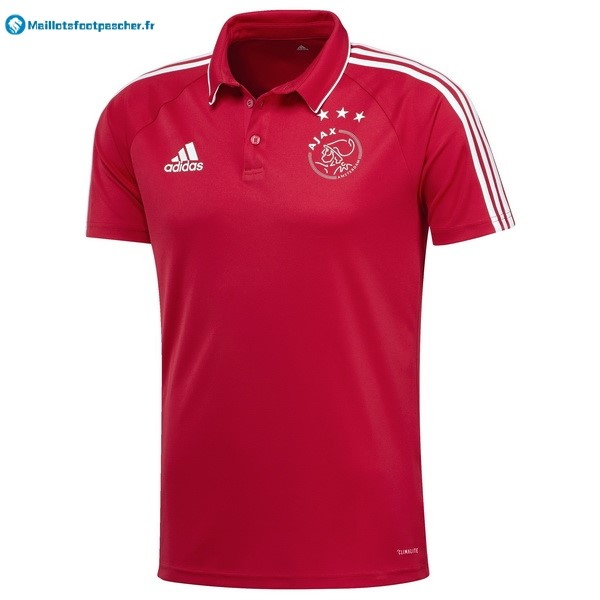 Polo Foot Pas Cher Ajax 2017 2018 Rouge