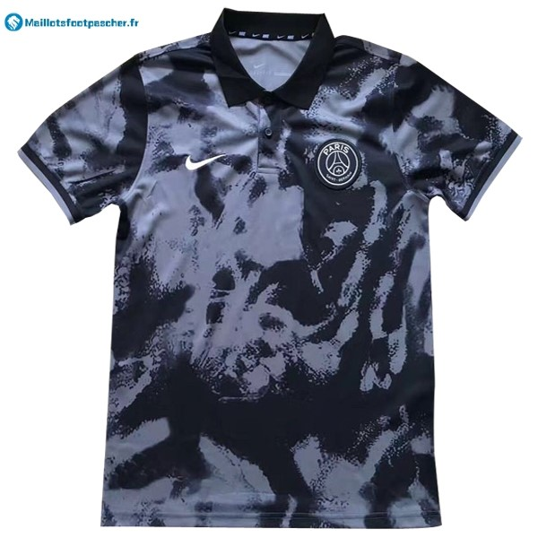Polo Foot Pas Cher Paris Saint Germain 2017 2018 Gris