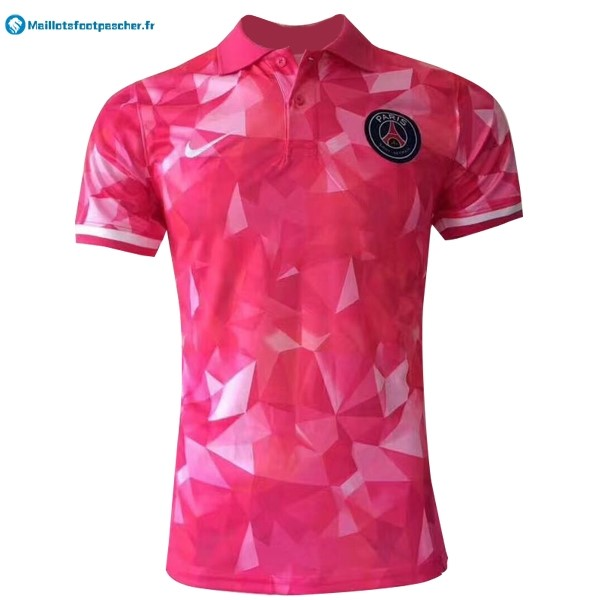 Polo Foot Pas Cher Paris Saint Germain 2017 2018 Rose