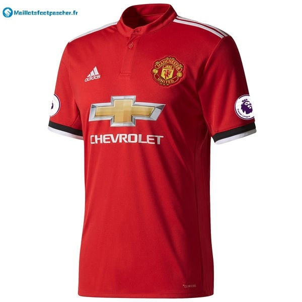 Thailande Maillot Foot Pas Cher Manchester United Domicile 2017 2018