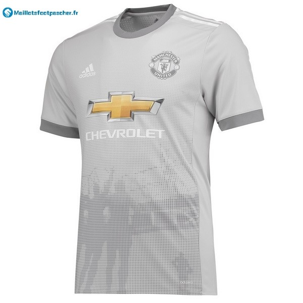 Thailande Maillot Foot Pas Cher Manchester United Third 2017 2018