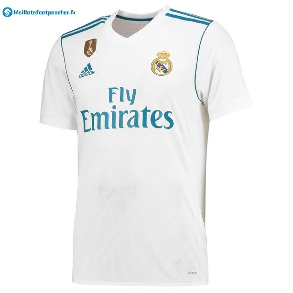 Thailande Maillot Foot Pas Cher Real Madrid Domicile 2017 2018