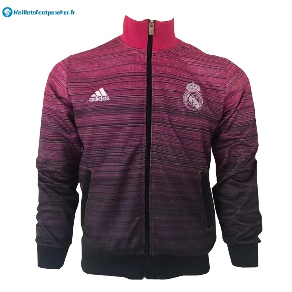 Veste Foot Pas Cher Real Madrid 2017 2018 Rose