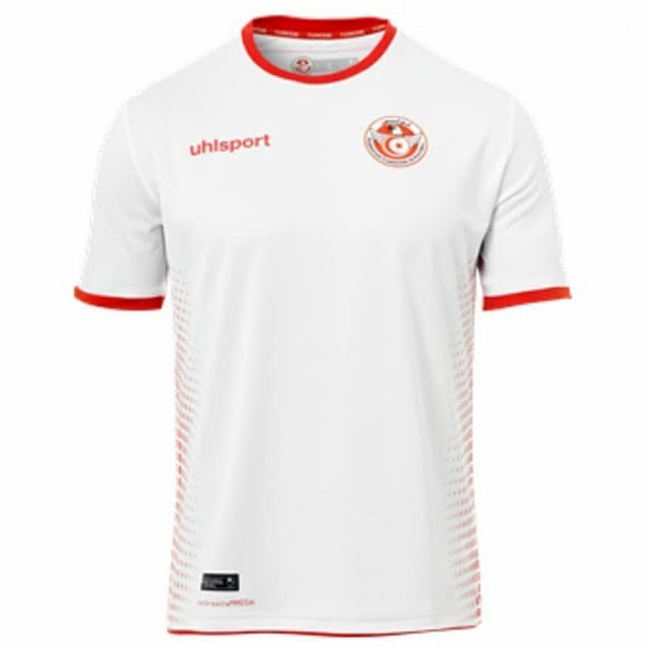 Maillot Foot Pas Cher Tunisie Domicile 2018
